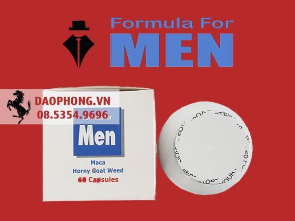 formula for man