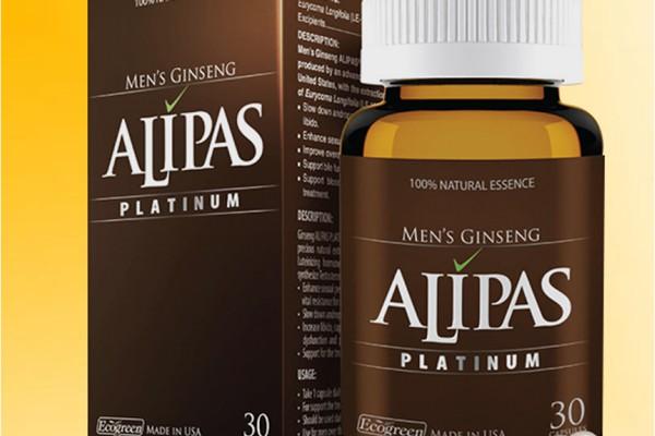 Liệu trình sử dụng Sâm Alipas Platinum