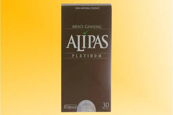 Hình ảnh hộp sâm Alipas Platinum