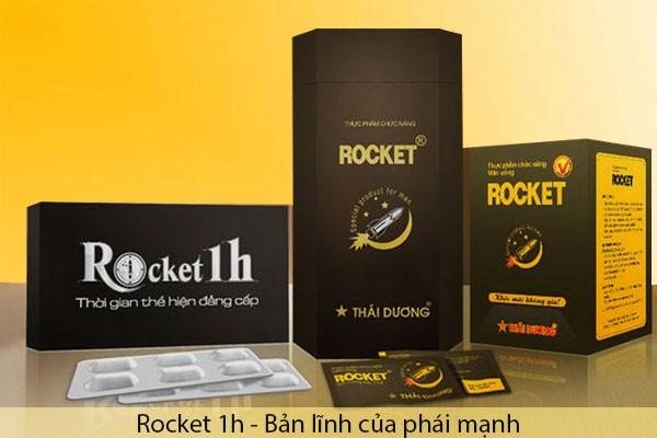 [REVIEW] Rocket 1h hộp 1 viên mua ở đâu? Có tác dụng trong bao lâu?
