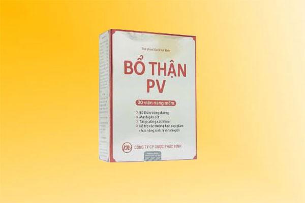 Bổ Thận PV có tác dụng phụ không?