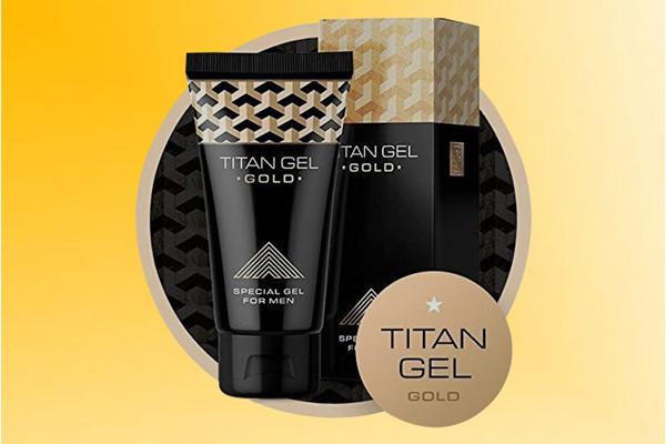 Tăng kích cỡ cậu nhỏ nhờ Titan Gel Gold
