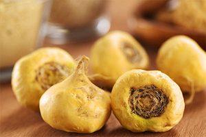Zetsurin Busho còn được chiết xuất từ củ macca có nguồn gốc ở Peru