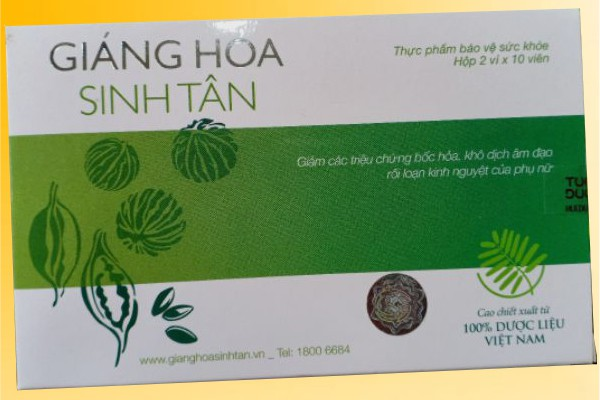 Giáng Hỏa Sinh Tân có thành phần là các thảo dược thiên nhiên
