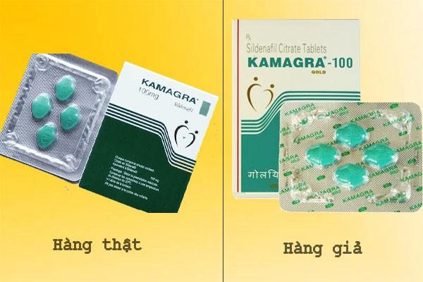 Hướng dẫn phân biệt thuốc Kamagra thật và giả