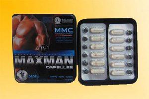 Thuốc cường dương Maxman dạng 24 viên.