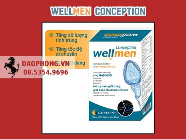 Dùng Wellmen tăng tinh trùng có tốt không?