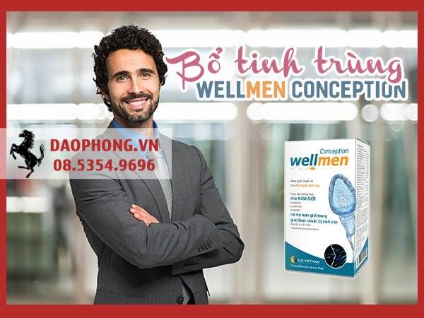 Review viên uống bổ tinh trùng Wellmen Conception